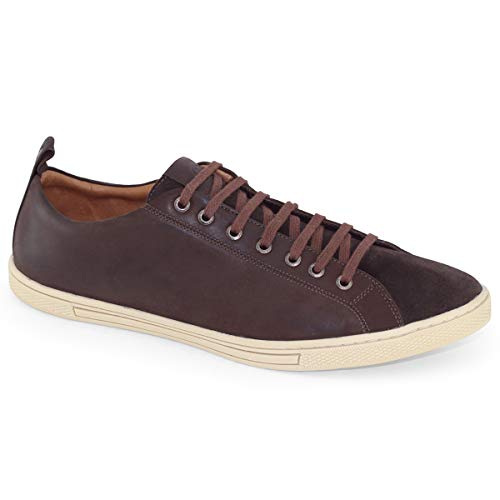 Anatomic Gel - Anatomic Gel New Sneakers Brown - Size 13 14 15 16 - Handmade - Leather Bovine/Goat - Exclusive (13)