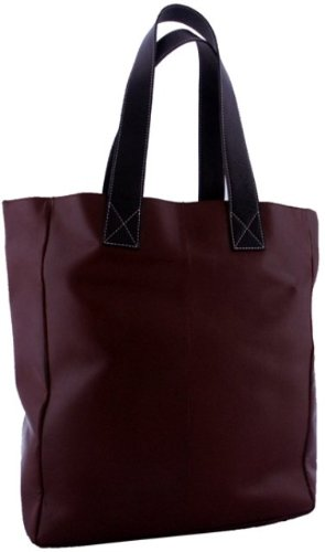 leatherbay-shopping-leather-totedark-brownone-size