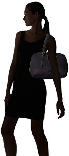 Liebeskind Berlin Gimbi Urbase, Borsa a spalla Donna Schwarz (Nairobi Black)