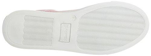 K-swiss Donna Court Classic Fashion Sneaker Gesso Rosa / Bianco Sporco