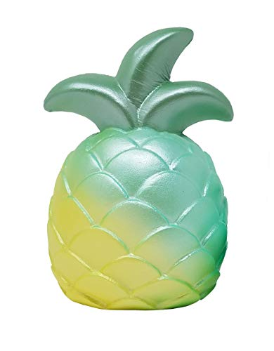ibloom Slow Rising [Squishy Collection] Pineapple Squishy Kids Cute Adorable Doll Stress Relief Toy Decorative Props [Miracle Green]
