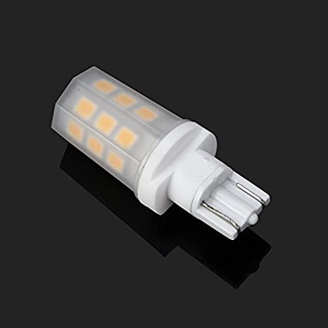emeryallen 2,5 W bombilla LED en miniatura – T5 cuña Base, 10 –