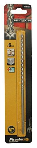 Piranha X58200-XJ 6mm Hi-Tech Drill Bit Flute by BLACK+DECKER