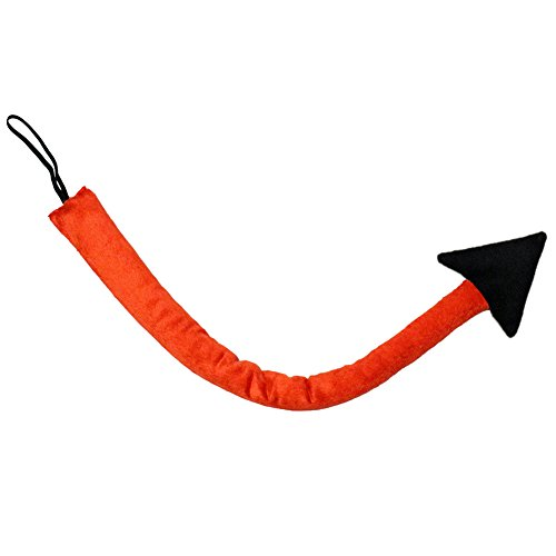 [SeasonsTrading Long Red Devil Tail ~ Halloween Costume Accessory (STC12196)] (Fun Cheap Easy Halloween Costumes)