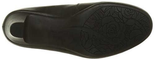 Rockport Hezra Pump - Tacones Mujer Noir (Black Leather)