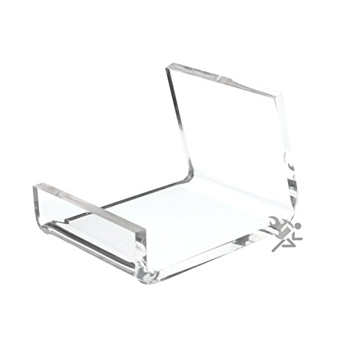 (5) Clear Acrylic Home Office Retail Display Case Cell Phone Holder Stand (Phone Stand Cabinet)