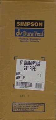 - Dura Vent DuraPlus 9021 6