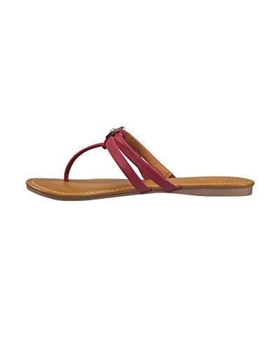 Bw Sandaler Kvinners Ridderspore Sandaler Røde