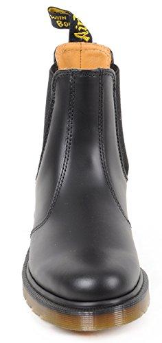 Dr. Martens 2976 Smoothplain Welt, Sneakers Hautes Mixte Adulte Nero