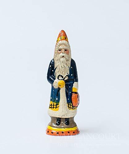 Vaillancourt Folk Art Halloween Tiny Santa -