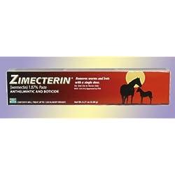 RJ matthews Merial Zimecterin Horse Dewormers Tube