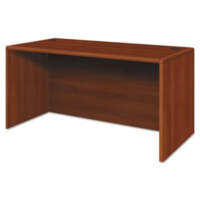 10700 Series Desk Shell, 60w x 30d x 29 1/2h, Cognac, Sold as 1 Each by Generic