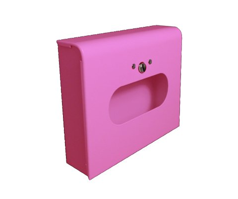 Sanitary Napkin & Tampon Disposal Bag Dispenser -Box Format, Pink, 10 Units by S.A.C.