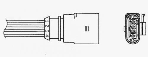 NGK 1345 Lambda Sensors: