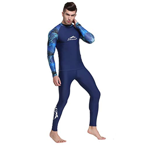 - Iusun Men 's Wetsuit Top Bodysuit Full Body Splice Swimwear Super Stretch UV Protection Perfect for Swimming/Scuba Diving/Snorkeling/Surfing