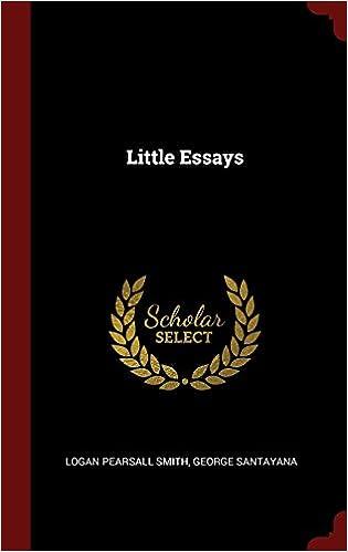 Little Essays