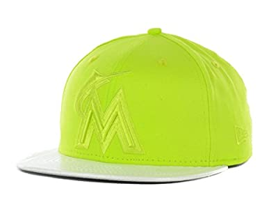 Miami Marlins MLB Holo Holographic 59Fifty Fitted Hat Cap