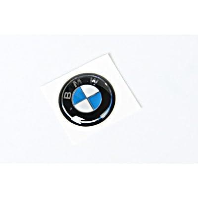 Genuine BMW E46 Cabrio Compact Coupe Sedan Key Emblem 11mm OEM 66122155753: Automotive [5Bkhe1513553]