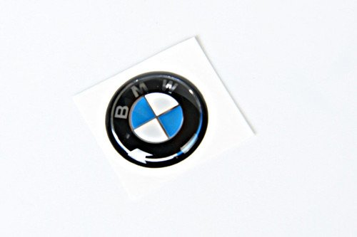 Genuine BMW E46 Cabrio Compact Coupe Sedan Key Emblem 11mm OEM (Sedan Key)