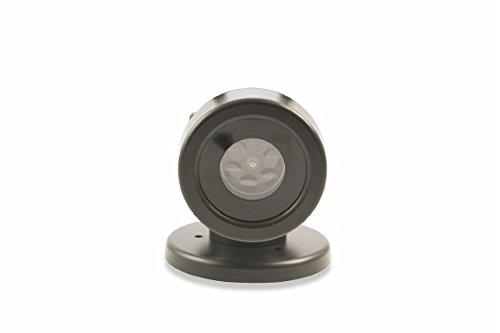 metal y pl/ástico Negro /2191582/Proyecci/ón LED Uso Externo 4/formas multicolor con base Kooper/