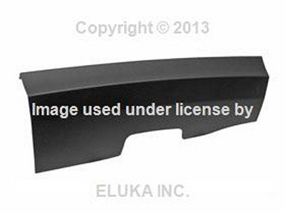 BMW Genuine Rear Bumper Cover Flap - Trim Flap for Trailer Hitch Mount for X3 3.0i X3 3.0si by BMW