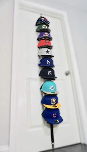 0 Hats 1 Rack Any Size, Style, or Shape! Multi-Purpose Organizer That can Organize Anything!! ()