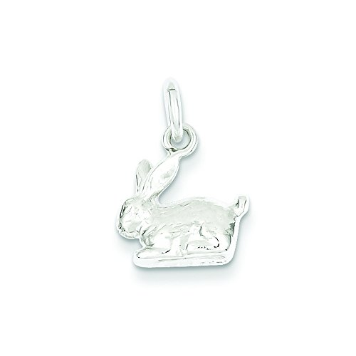 it Charm (Sterling Silver Rabbit Charm)