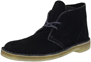Clarks Men's Desert Boot,Black/Grey,12 M US (B0074D2U72) | Amazon price tracker / tracking, Amazon price history charts, Amazon price watches, Amazon price drop alerts