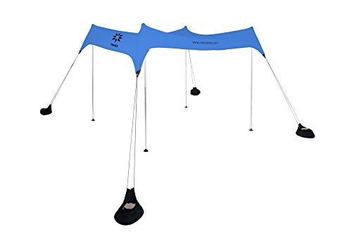 Neso Tents Beach Tent with Sand Anchor Portable Canopy Sun Shelter u2013 7u2032 x ...  sc 1 st  Best C& Kitchen & Neso Tents Beach Tent with Sand Anchor Portable Canopy Sun ...