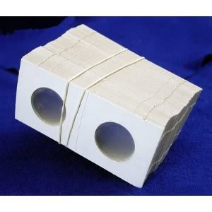 Toy / Game BCW 100 2x2 Cardboard Coin Common Holders Small DOLLARS - Offer Great Long Term Protection
