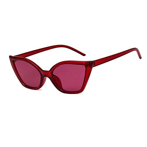 Goggles para de estrecho Clout de Red mujeres policarbonato de gafas de gato sol Vintage ojo marco moda WeiMay qOv5O