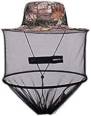 Sunscreen Bewegung Stilvolle Hut Verbandsmull Abwehr Moskito Sommer Stilvolle Hüte Bee Defense Net Stilvolle Hut für Männer im Freienkappe