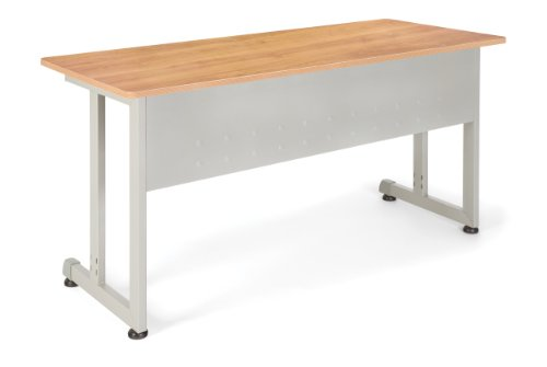 - OFM 55142-MPL Training Table, 24 by 55-Inch, Maple