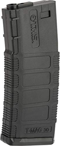 (Evike King Arms 140 Round Polymer TWS Magazine for M4/M16 Series Airsoft AEGs (Color: Black))
