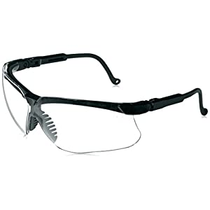 Howard Leight by Honeywell Genesis Sharp-Shooter Shooting Glasses, Clear Lens (R-03570)