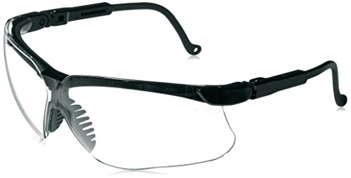 Howard Leight by Honeywell Genesis Sharp-Shooter Shooting Glasses, Clear Lens (Smart Choice Range Accessory)