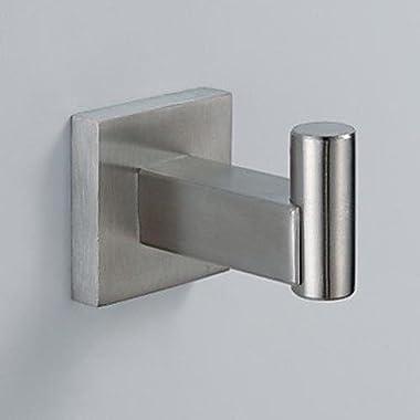 Bathroom Accessories 304 Stainless Steel Nicel Brushed Robe Hook