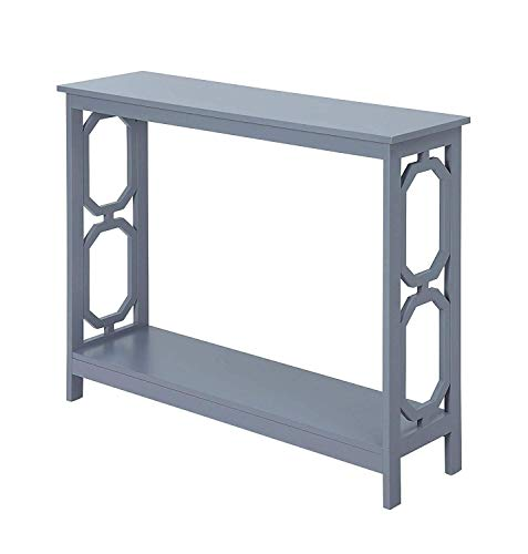 Convenience Concepts Omega Console Table, Gray