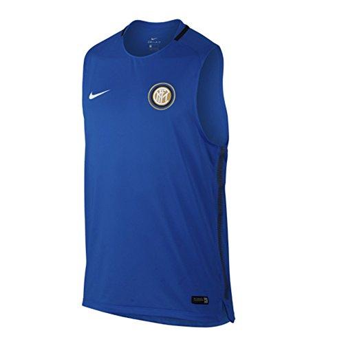 2017-2018 Inter Milan Nike Sleeveless Training Shirt - Milan Training Shirt