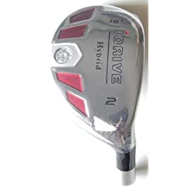 New Integra I-Drive Hybrid Golf Club #2-16° Right-Handed With Graphite Shaft, U Pick Flex