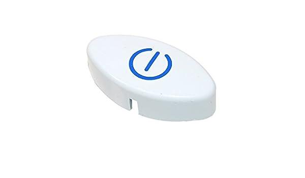 Genuine INDESIT LAVAVAJILLAS on/off blanco botón c00143006: Amazon ...
