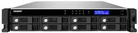 QNAP(キューナップ) Systems Inc. TS-869U-RP 32TB HDD搭載モデル (WD Red 4TB HDD x 8 搭載) T869URT8MW40   B00MAWTR9G
