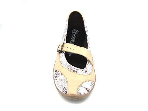 Arcopédico - L39 - Zapatos Casual para Mujer - Color : Beige