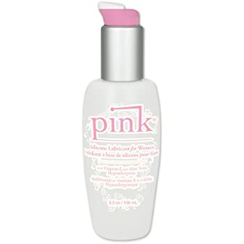 Pink Silicone Lubricant For Women, 3.3 Ounces
