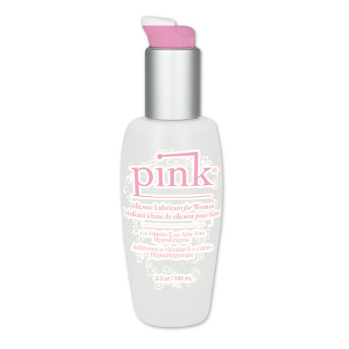 Pink Silicone Lubricant For Women, 3.3 Ounces by Empowered Products