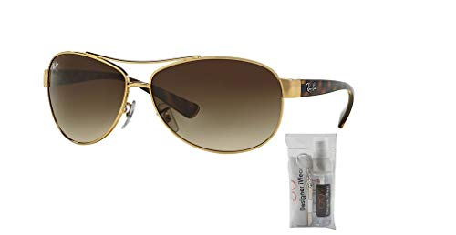 Gradient brown Ray ban Rb3386 Arista Sunglasses qqUwTY