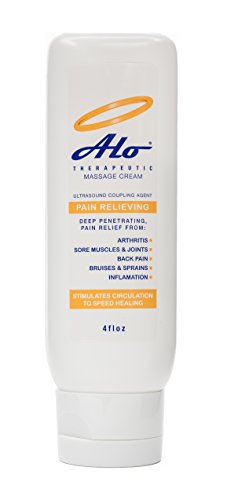 (ALO Pain Relief Cream Therapy 4 oz for Arthritis Back Pain Sciatica Plantar Fasciitis Tennis Elbow Sore Muscles & Joints Inflammation Neck Pain Wrist Pain MSM Menthol Massage Cream)