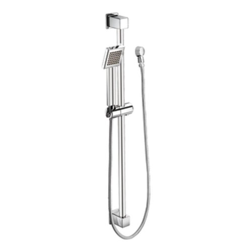 Moen S3879EP 90 Degree Eco-Performance Handheld Showerhead with 69-Inch-Long Hose Featuring 30-Inch Slide Bar, Chrome