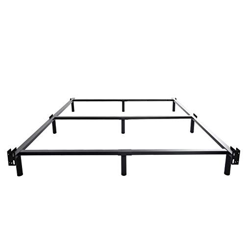 (HOMUS 7 Inch High Heavy Duty Steel Platform Bed Frame/Base, Fit for Mattress and Box Spring (Cal King))