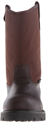 Men's Wellington Shoe Toe Steel Boot Georgia Homeland Brown Work qTw5ZfzX